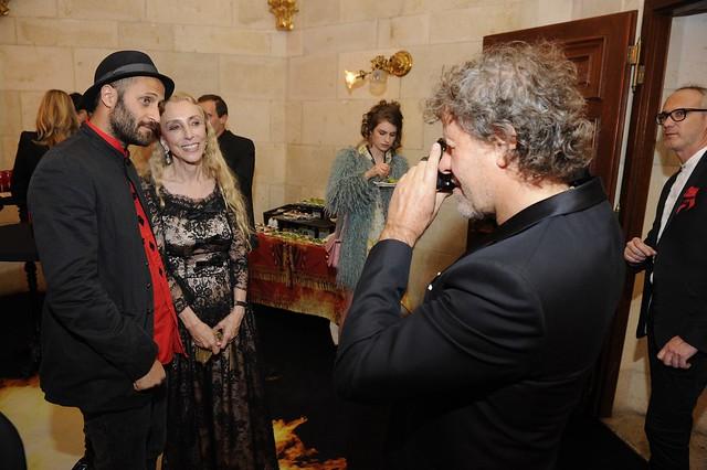 Renzo Rosso, Franca Sozzani e Andrea Rosso