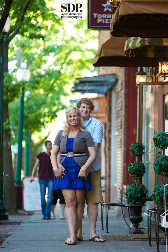 Westport Kansas City engagement session