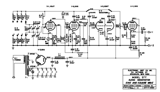 Long Live The All American Five Or Recovering A Piece Of Radio History further Receivers likewise Pt2399 together with 6BM8 additionally 1974 Vco Effects Unit Circuit Diagram Instructions. on tube audio oscillator