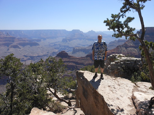 Chris at the Grand Canyon