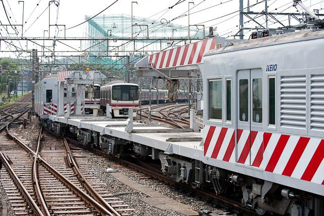 京王電鉄 デワ600 チキ290出場試運転