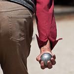 Une seule chose, la placer, boule petanque