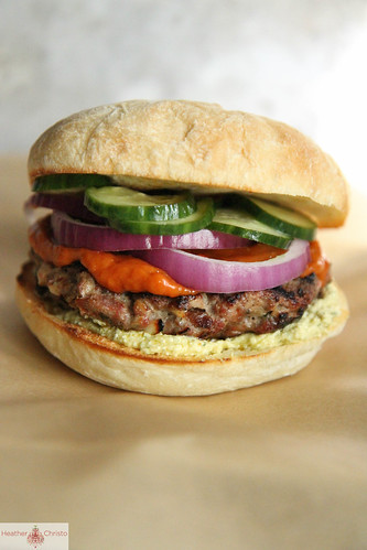 Grilled Lamb Burger