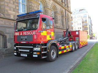 NIFRS / E2160 / WX54 VUT / MAN TGA 26.363 / Prime Mover + Mass Decontamination Pod