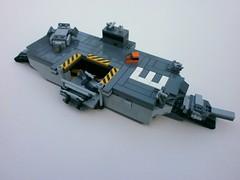 'Orkney' Class Amphibious Assault Ship by The Legonator