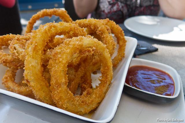Aros de cebolla (Gobu Burger)