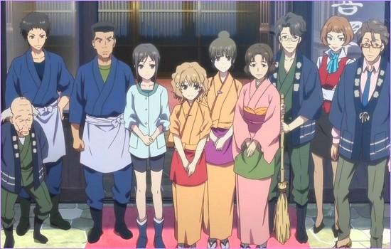 Continuação de Hanasaku Iroha será lançado ainda este ano!