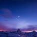 Sweet Dream Matterhorn by Weerakarn