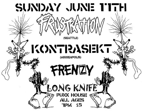 6/17/12 Frustration/Kontrasekt/Frenzy/LongKnife