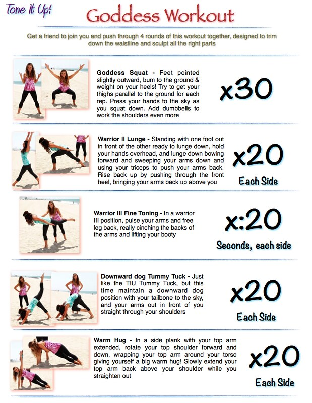 The Goddess Workout – ToneItUp.com