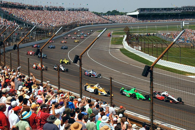 The Field of 33 at the 2012 indy 500