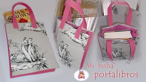 bolsa portalibros by churri99