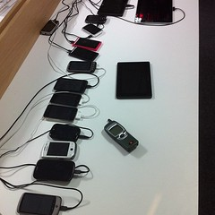 Getting more phone chargers and power strips for the communal device lab
