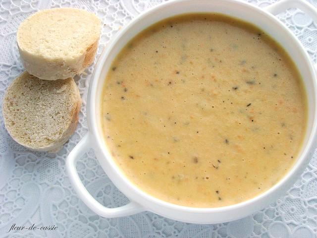 крем-суп из картофеля, моркови и сельдерея 2