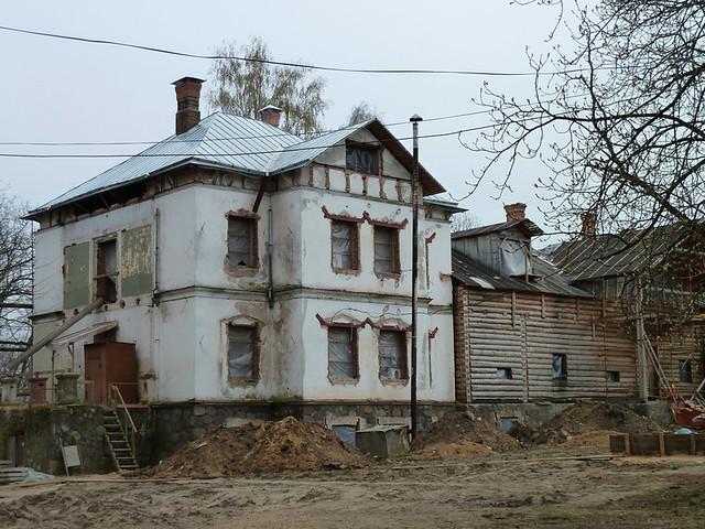 Лошица Так выглядит усадьба в 2012  после 20 лет реставрации 2