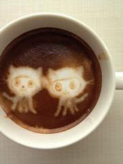 Today's latte, fork it, Octocat!