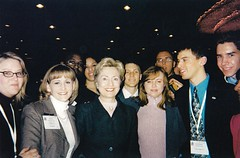 First Lady Hillary Clinton and Students from the Maricopa Community Colleges