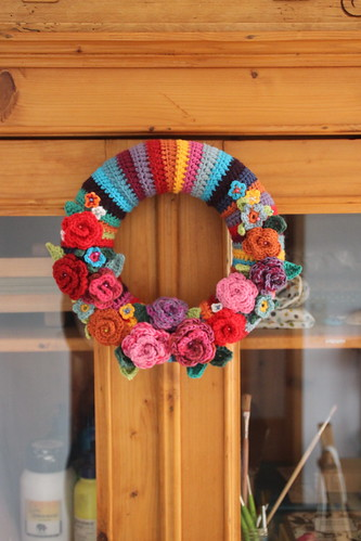 springtime wreath.