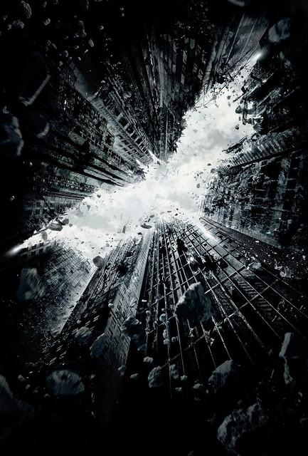 2012最佳「今年暑假賣座強片」海報 - The Dark Knight Rises (黑暗騎士:黎明昇起)
