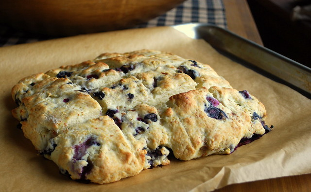 Blueberry Cream Biscuits 3
