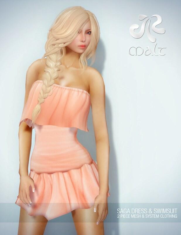 .:MALT:. Saga Dress & Swimsuit