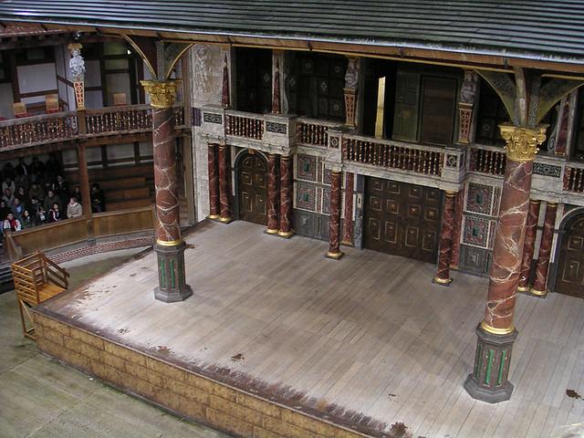 Лондон,  Шекспировский театр Глобус