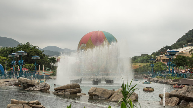 Aqua City Fountain