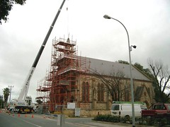 Tower reconstruction 2002