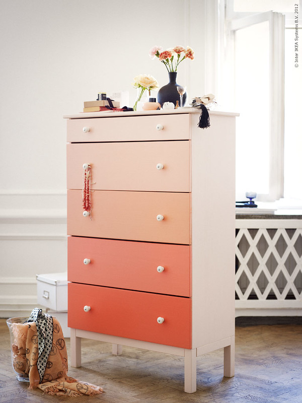 Ombre DIY: Dresser From IKEA