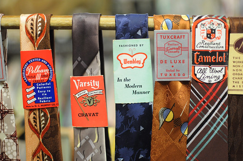 neck ties at amalgamated clothing and dry goods