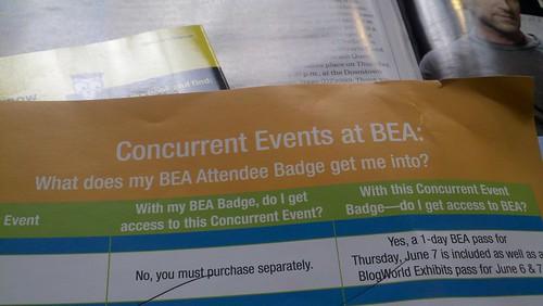 Concurrent Events