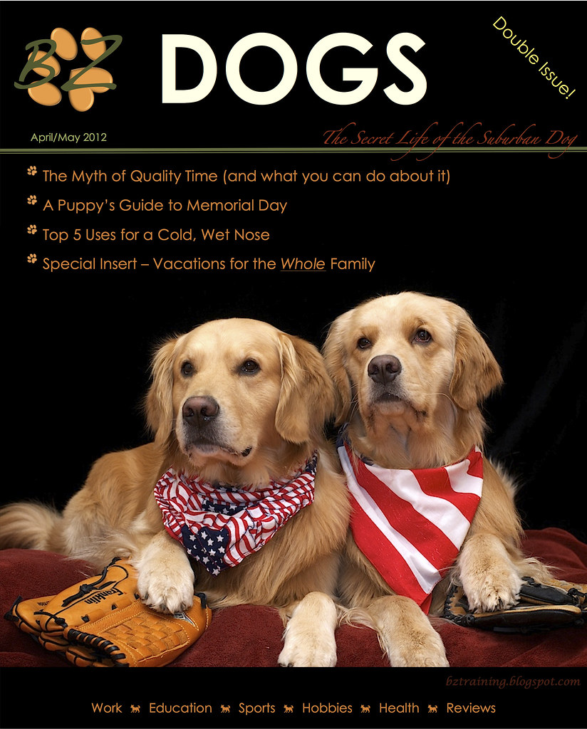 BZ Dogs Magazine - April/May 2012