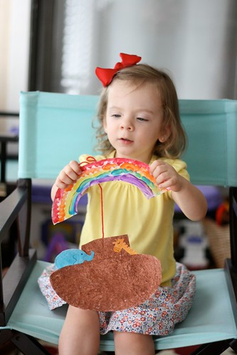 A day in the life of the brown family preschool at home for Noah s ark preschool craft