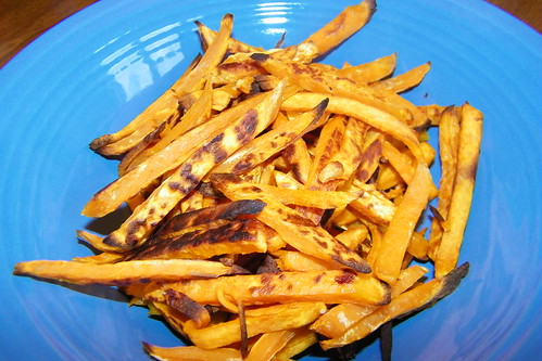 Healthier Sweet Potato Fries