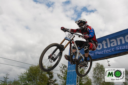 Photo ID 48 - 13  Justin  LEOV  -  TREK WORLD RACING, Fort William MTB World Cup 2012 by mattmuir.co.uk