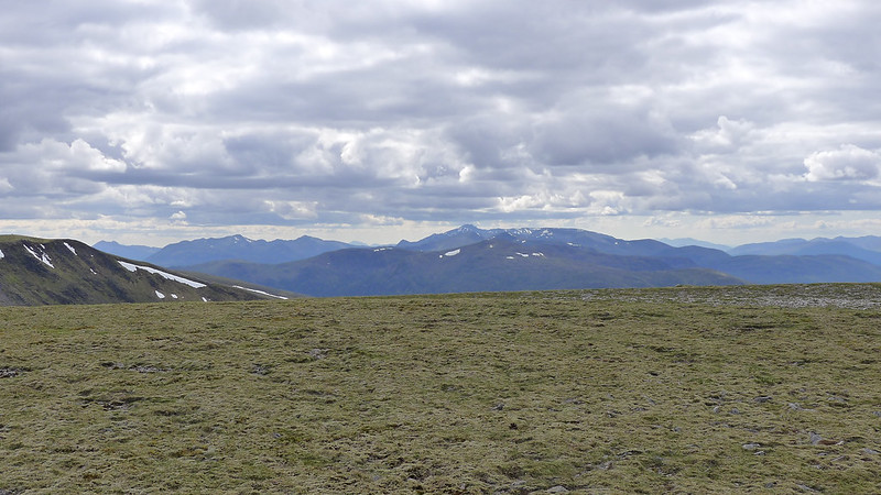 Towards Ben Nevis from Geal-Chàrn