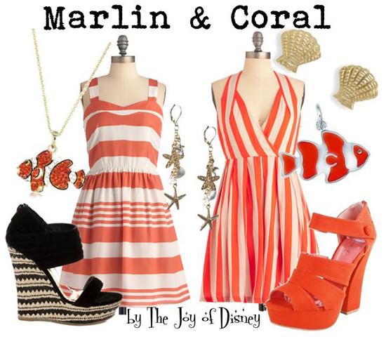 Finding Nemo: Marlin & Coral