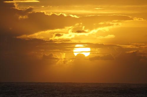 ocean morning sun water clouds sunrise florida eastcoast