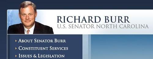 senator burr