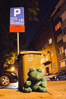 His Excellency Kermit in a private visit to Zagreb