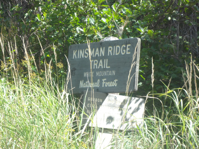 Kinsman Ridge Trail Sign