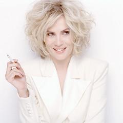 Emmanuelle Seigner Smoking