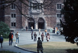 University of Washington campus, 1979