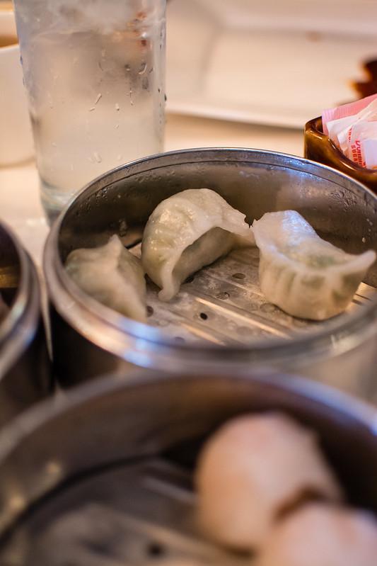 Vegetable Dumplings at Mandarin House