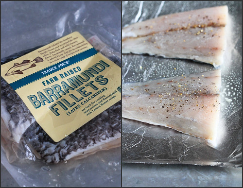 Baked Fish Marsala Recipe with Mushrooms {Barramundi} | cookincanuck.com #fish #healthy
