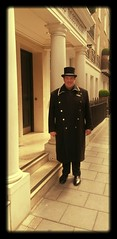 #headdoorperson #greatcustomerservice #welcomingpeople #flemingsmayfair #flemings #mayfair #luxuryhotel