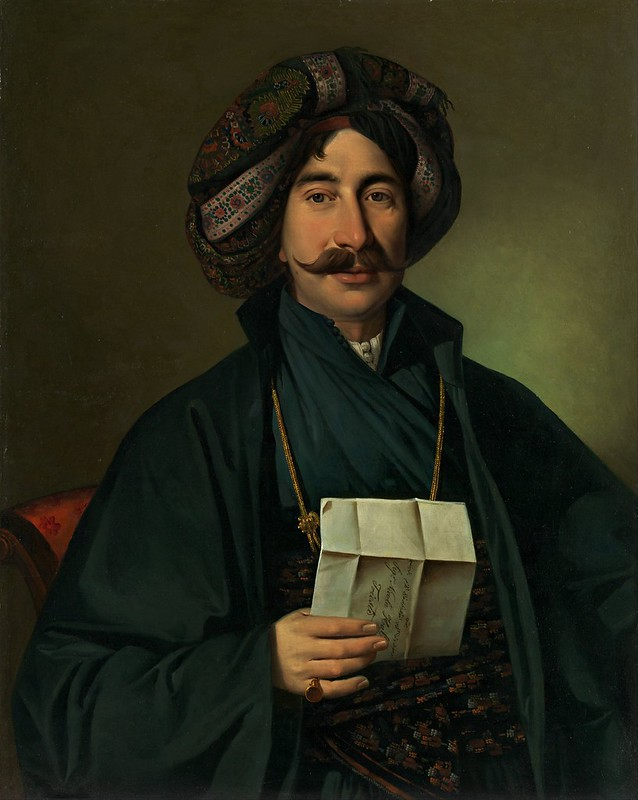 Jožef Tominc - Man in Ottoman dress (c.1830)