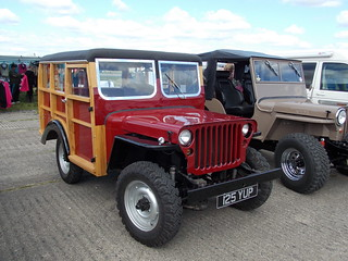 1943 Willys Jeep shooting brake | This was built as an ordin