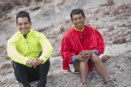 Silvino Cubesare y Daniel Almanza juntos en el especial Running in Two Worlds México 2016