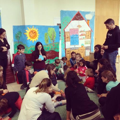 Teatro infantil co CS de Educación Infantil do IES Chapela